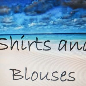Shirts, blouses & pull-on sweaters